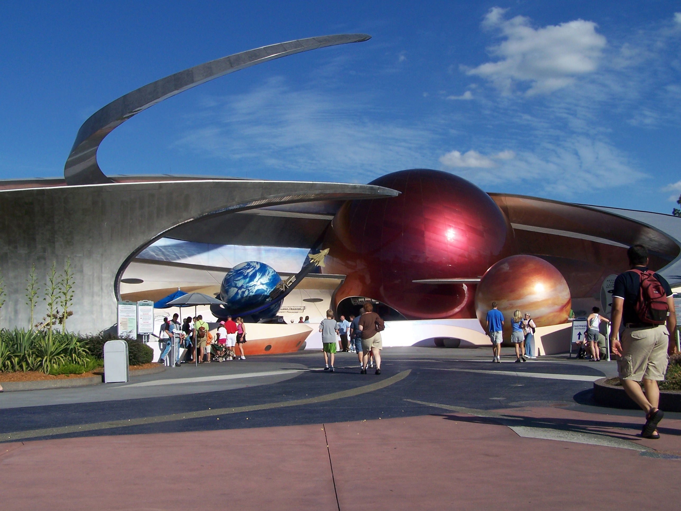mission space ride at epcot - photo #7